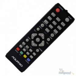 Controle Remoto para Conversor Digital Aquario DTV4000 LE7108